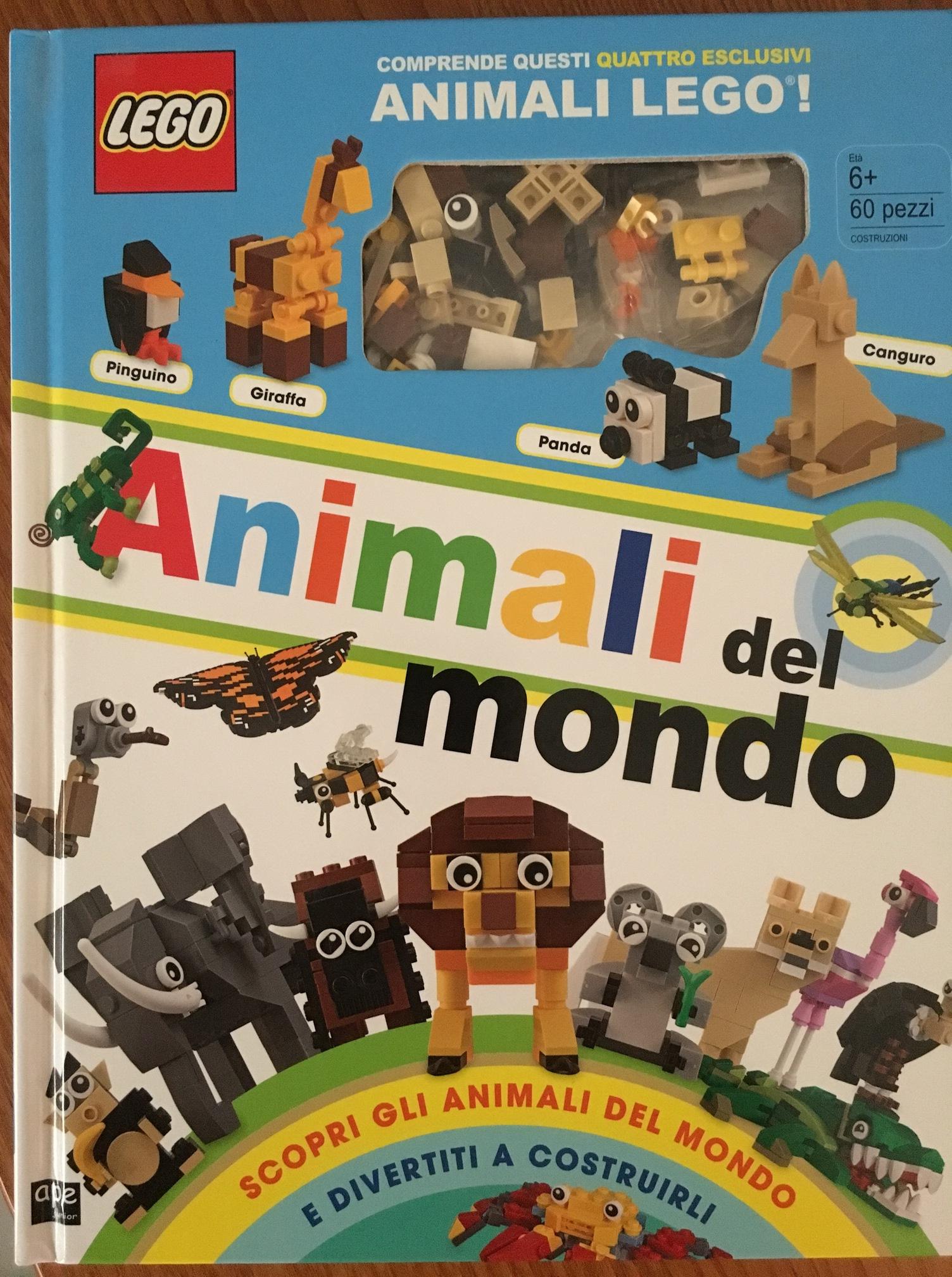 Gli animali visti attraverso i Lego